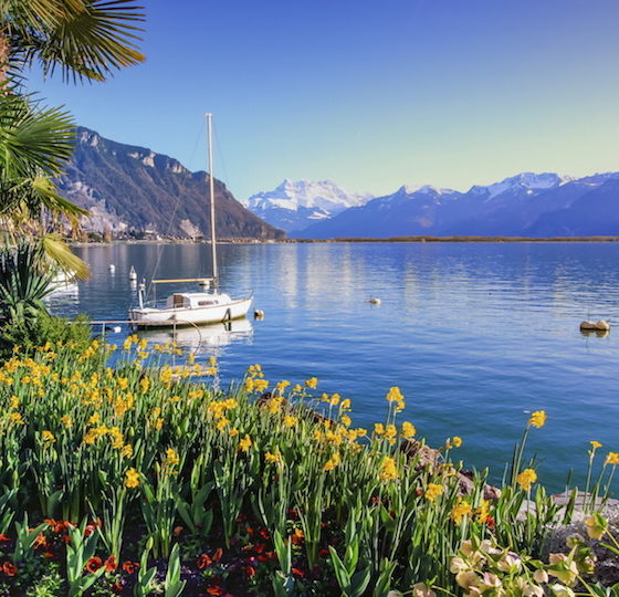 Os 12 lagos mais bonitos da Suíça